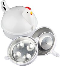 Wohlstand Microwave Egg Boiler,Steamer 13.3 * 15.7