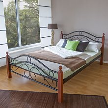 Wolcott Bed Frame Marlow Home Co.