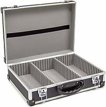 Wolf Black 425mm CD DVD Aluminium Case Tool Box