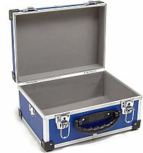 Wolf Blue 320mm CD DVD Aluminium Case Tool Box DIY