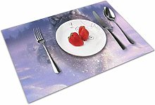 Wolf In Snow Heat Insulation Heat Resistant Table