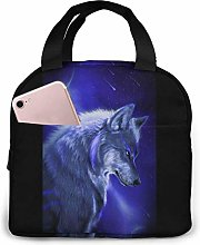 Wolf Portable Lunch Bag Insulated Cooler Bag for