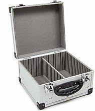 Wolf Silver 40 CD DVD Aluminium Case Tool Box DIY