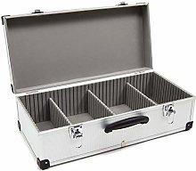 Wolf Silver 80 CD DVD Aluminium Case Tool Box DIY