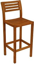 Wolfforth 108cm Bar Stool Sol 72 Outdoor