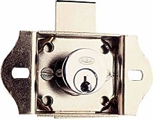 Wolfpack 3030040 Lock for Furniture/Cabinet, Brass