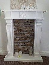 Wolkenstube Deluxe Decorative Fireplace, Fireplace