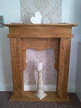 Wolkenstube Rustic Fireplace Surround Decorative