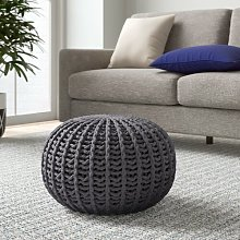 Wollano Pouffe Zipcode Design Upholstery Colour: