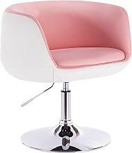 WOLTU Bar Stool Rosa+White Bar Chair Breakfast