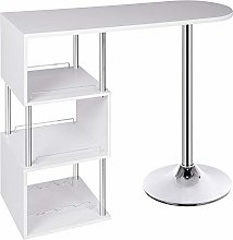 WOLTU Kitchen Bar Counter Table Bistro Table