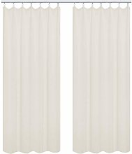 WOLTU Pair of Thermal Insulated Pencil Pleat