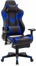 WOLTU Racing Chair Gaming Chair Blue Swivel