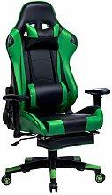 WOLTU Racing Chair Gaming Chair Green+Black Swivel
