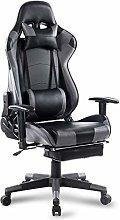 WOLTU Racing Chair Gaming Chair Grey+Black Swivel