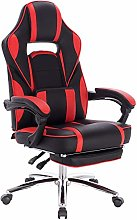 WOLTU Racing Chair Gaming Chair Red Swivel