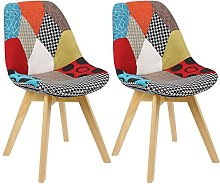 WOLTU Tulip Chairs Kitchen Dining Chairs Set of 2