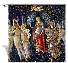 Woman and Child Shower Curtain, Waterproof and
