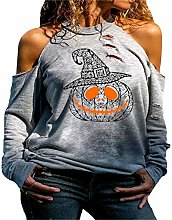 Women's Distressed Halloween Ghost Cold