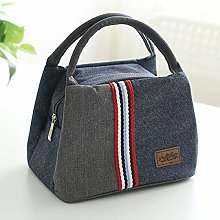 Women's Insulated Oxford Lunch Bag Cotton