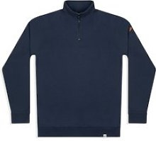 Women's Nevis Quarter Zip Sweatshirt - Navy