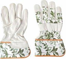 Women's Soft Leather Gardening Gloves Garden