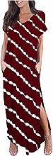 Women's Tie-Dye Striped Butterfly Printed