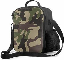 Women Lunch Tote Camouflage Protective Military