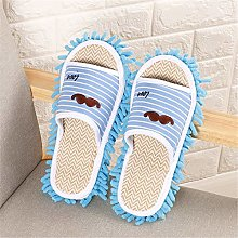 Women Slipper Cleaning Mop 2 Pairs Of Slippers