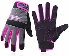 Women Utility Work Gloves, UltraLight Safety Work