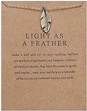 Womens Necklaces & Pendants, Creative Paper Card