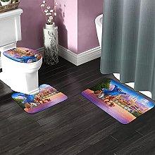Wonder Park Bathroom Rugs Set Non-Slip Water