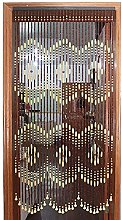 Wood Beaded Curtain for Door Passage Room Divider