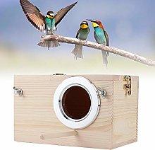 Wood Breeding Nest,Wooden Bird Nest Box,Budgie