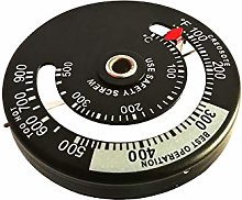 Wood Burner & Stove Magnetic Thermometer Use for