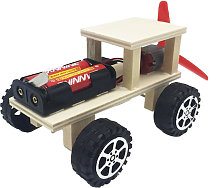 Wood Car Building Kit DIY Craft Vehicle Kit 3D
