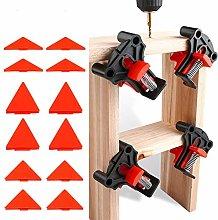 Wood Clamps, 4Pcs Set Multi-Angle 60 Degree 90