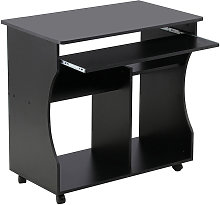 Wood Computer Desk Workstation Study PC Table Home