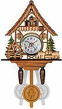 Wood Cuckoo Clock Wall Clocks, Handcrafted Antique
