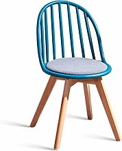 Wood Dining Chair Modern Dining Plastic Hollow