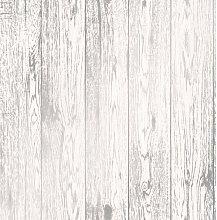 Wood Effect Wallpaper Distressed Wooden Grain Loft
