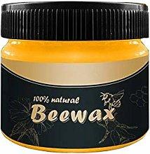 Wood Furniture Polishing Wax,4PCS Natural Beeswax
