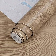 Wood Grain Removable Wallpaper PVC Self-Adhesive