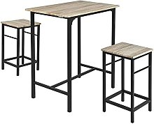 Wood Kitchen Patio Dining Furniture,Table &