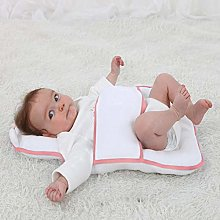Wood.L Portable Baby Bed Mattress Baby Pillow For