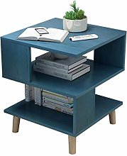 Wood Side Table Small Sofa Tables Nightstand with