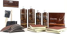 Wood Stain Kit - Used to Clean, Prepare, Stain &