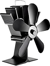 Wood Stove Fan- The 5 blade fan is suitable for