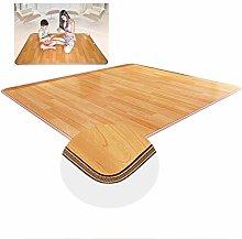 Wood Stripe Electric Heated Floor Carpet Mat,