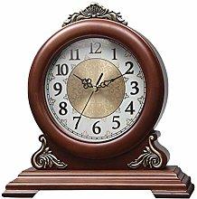 Wood Table Clock Shelf Clocks Personalized Wood